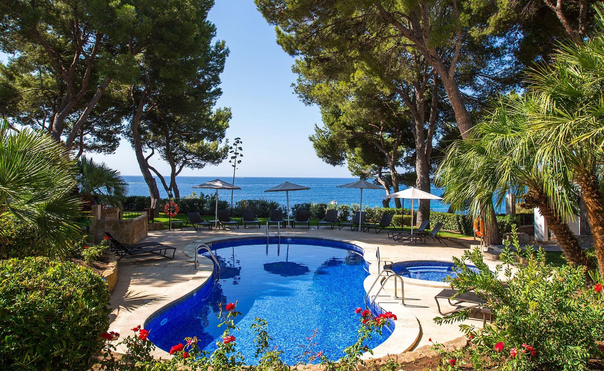 Kleines Hotel Mallorca Direkt Am Strand